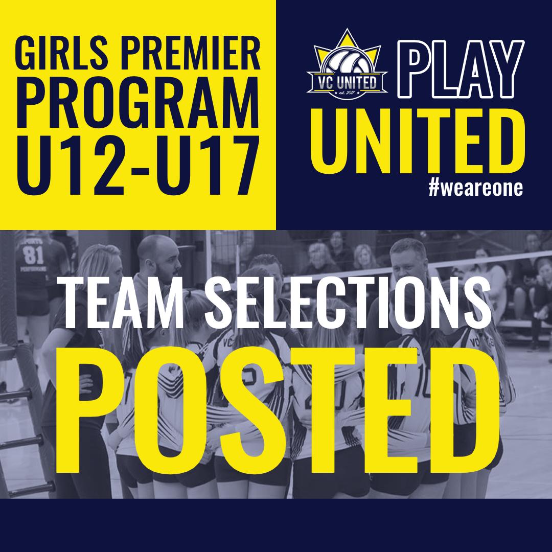 Girls Premier Team Post - IG